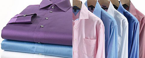 Parkway Drycleaning offers threes levels of shirt cleaning and finishing.